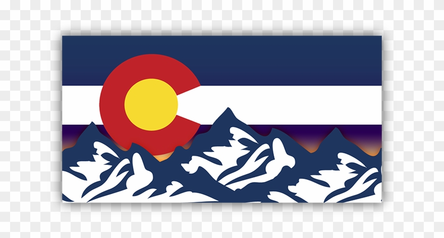 Picture Black And White Download Colorado Vector Flag.