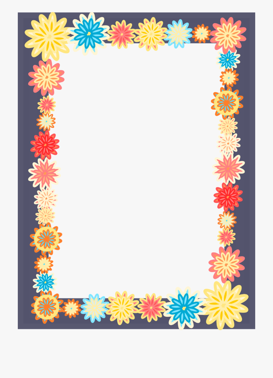 Clipart Frames Colorful.