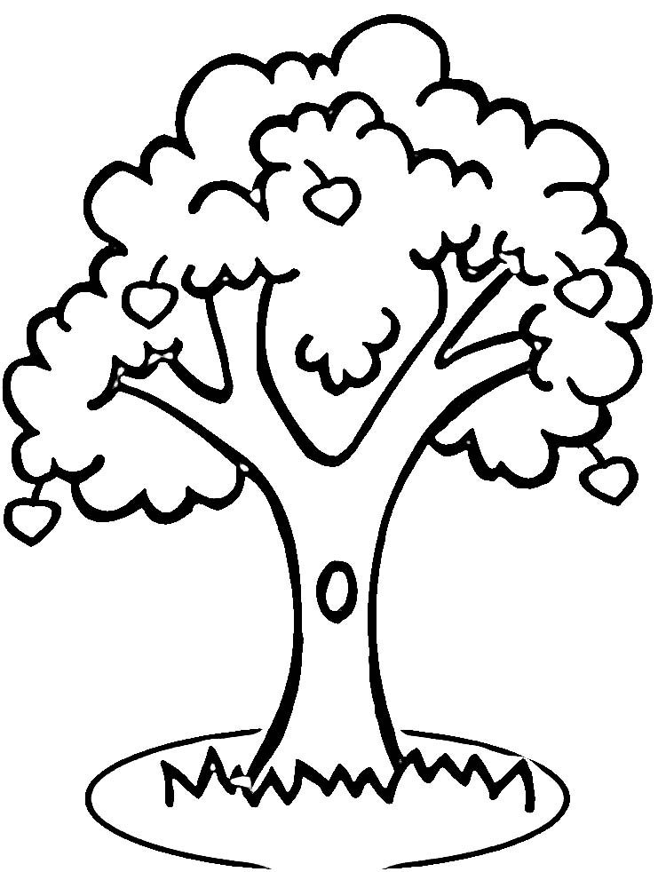 Todd Clipart 20 Fee Cliparts Download Imagenes: Clipart Coloring Tree 20 Free Cliparts