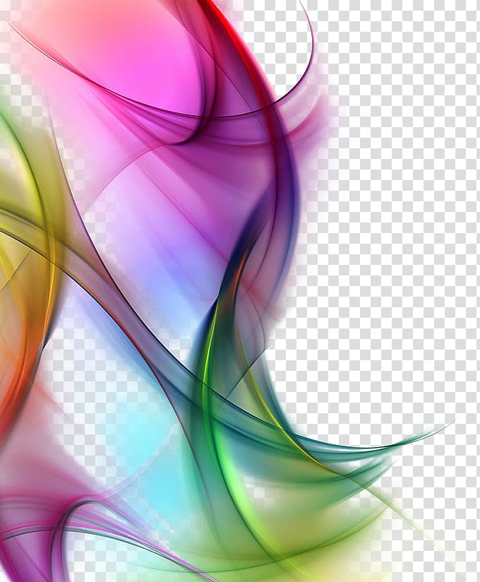 Dream gorgeous color background transparent background PNG.