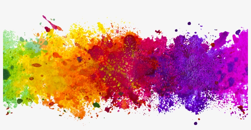 Download Splash Of Colour Clipart Watercolor Painting.