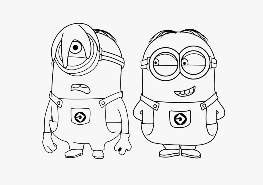 Astronaut Clipart Colouring Page.