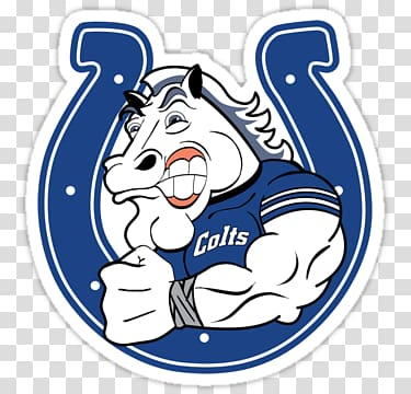 Indianapolis Colts Blue NFL Horse, NFL transparent.