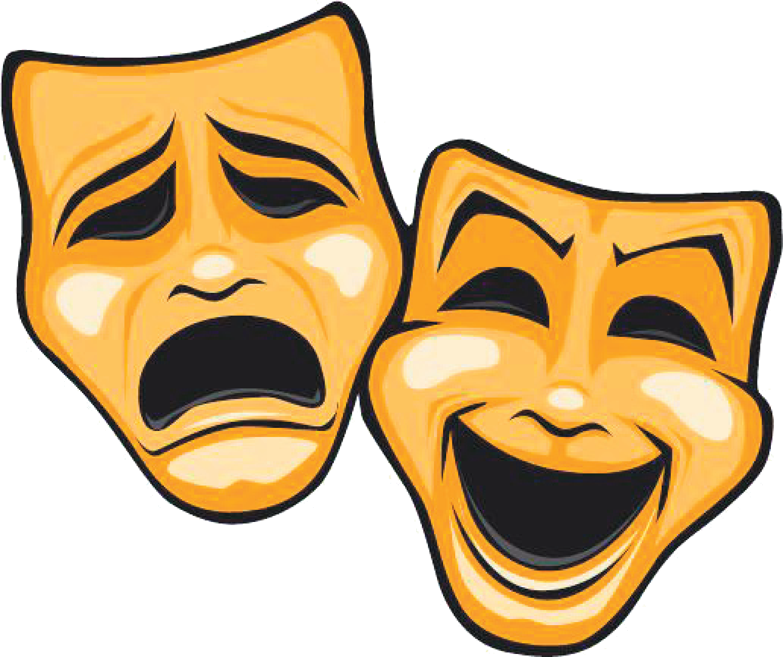 Mask Theatre Tragedy Comedy.