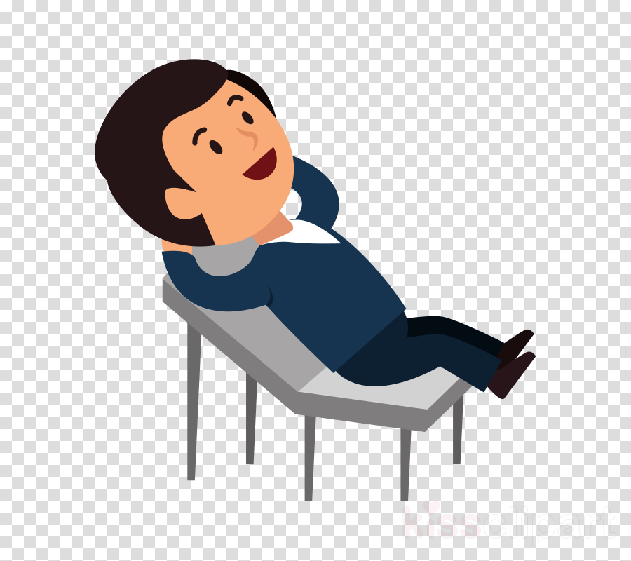 cartoon sitting furniture chair comfort clipart.