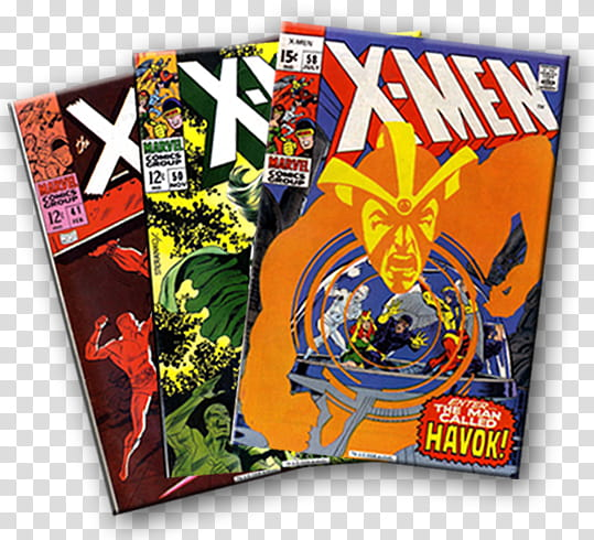 Comic Book Lover X men, three X.