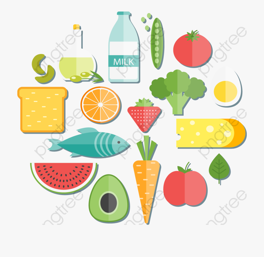 Healthy Clipart Food.