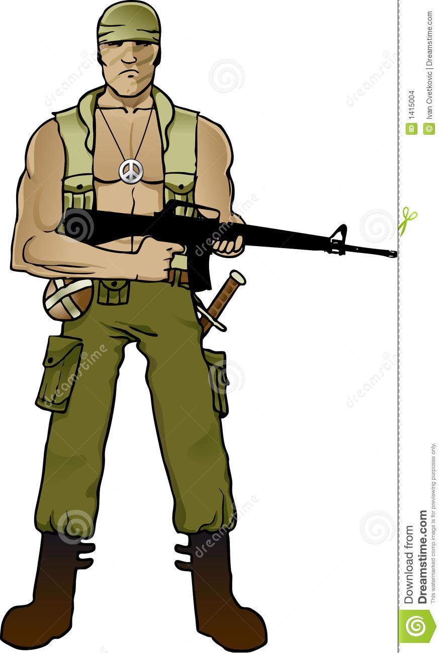 Commando 20clipart.