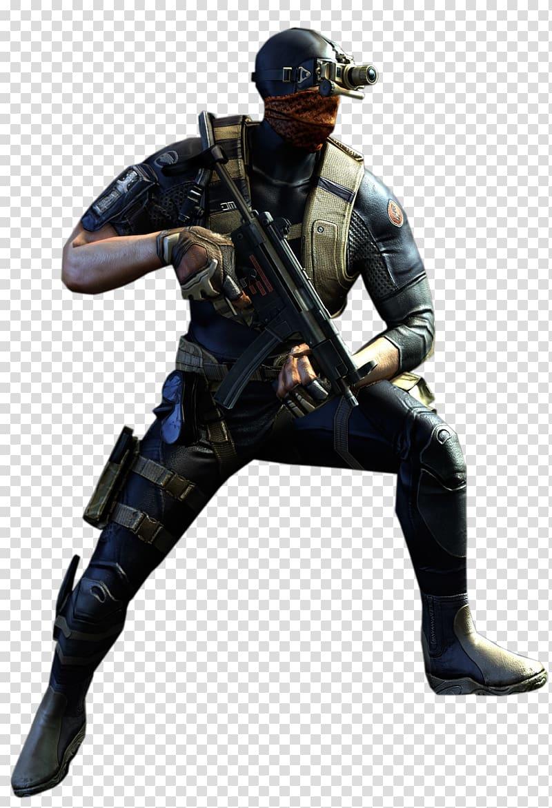 Ultimax 100 Commando CrossFire Kris, SAS transparent.