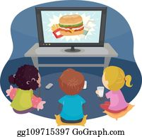Tv Commercial Clip Art.