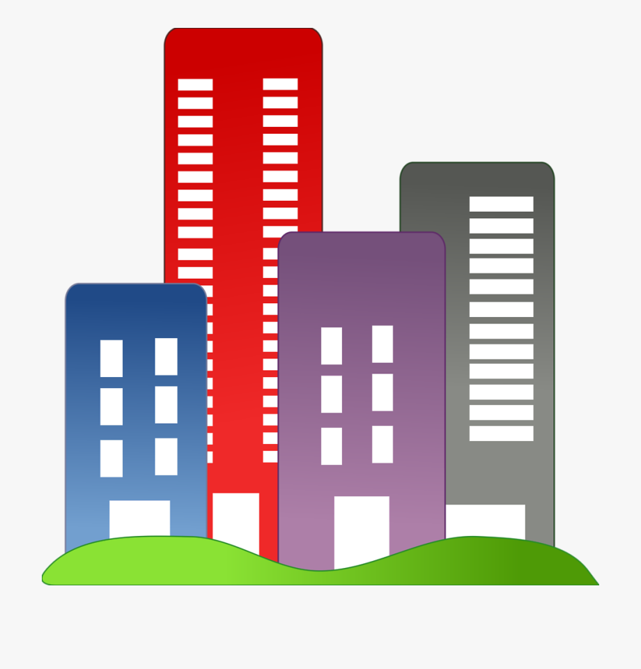 City Buildings Png Transparent Images Clipart Icons.