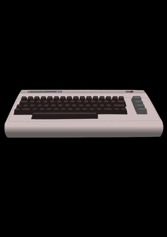 Free Clipart: Commodore 64 Computer.
