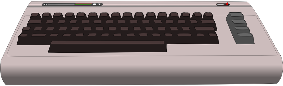 Commodore 64 Clipart.