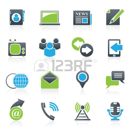 812,536 Communication Icons Stock Vector Illustration And Royalty.