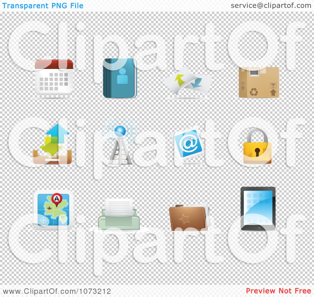 Clipart 3d Web Browser Communication Icon Design Elements 2.