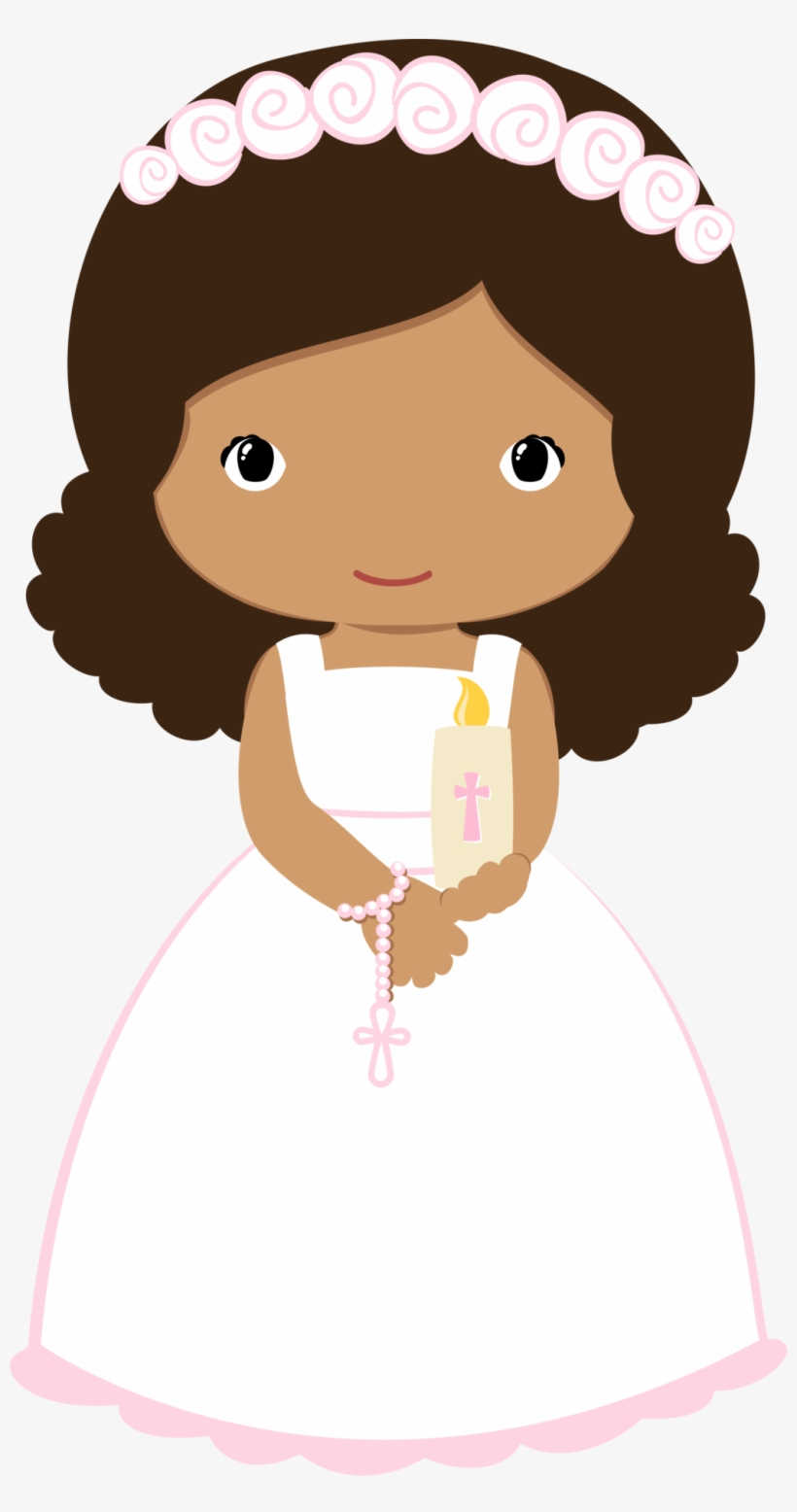 Communion Girl Png Wave Hair.