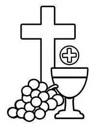 Communion Symbols Clip Art.