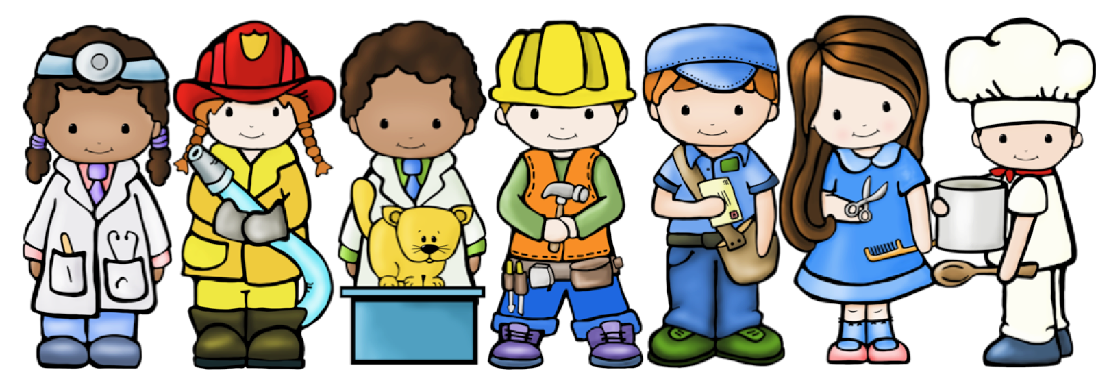 Community Helpers Clipart For Kids.
