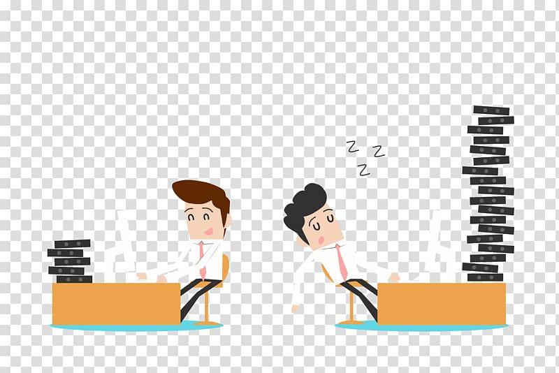 Job Productivity Management Businessperson Company, Comic.
