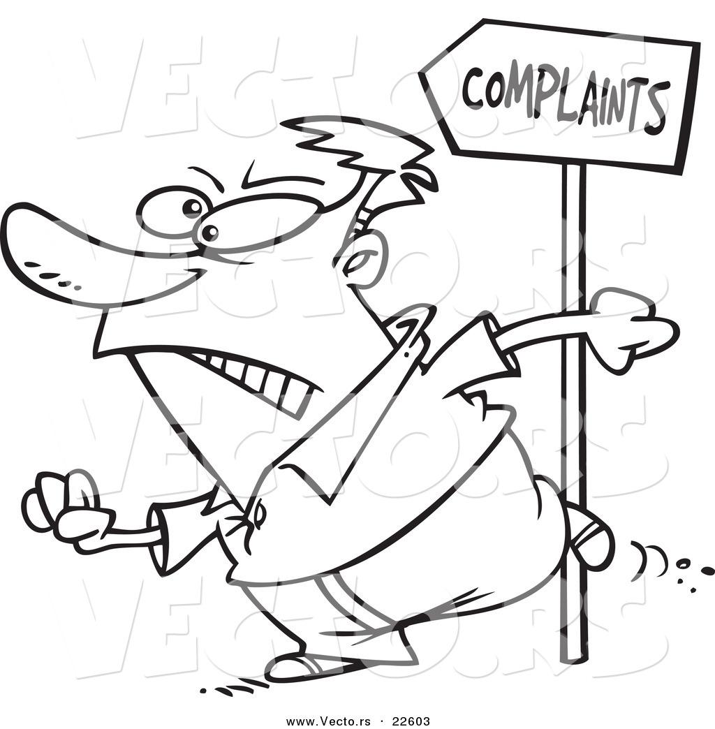 Complaints Clipart.
