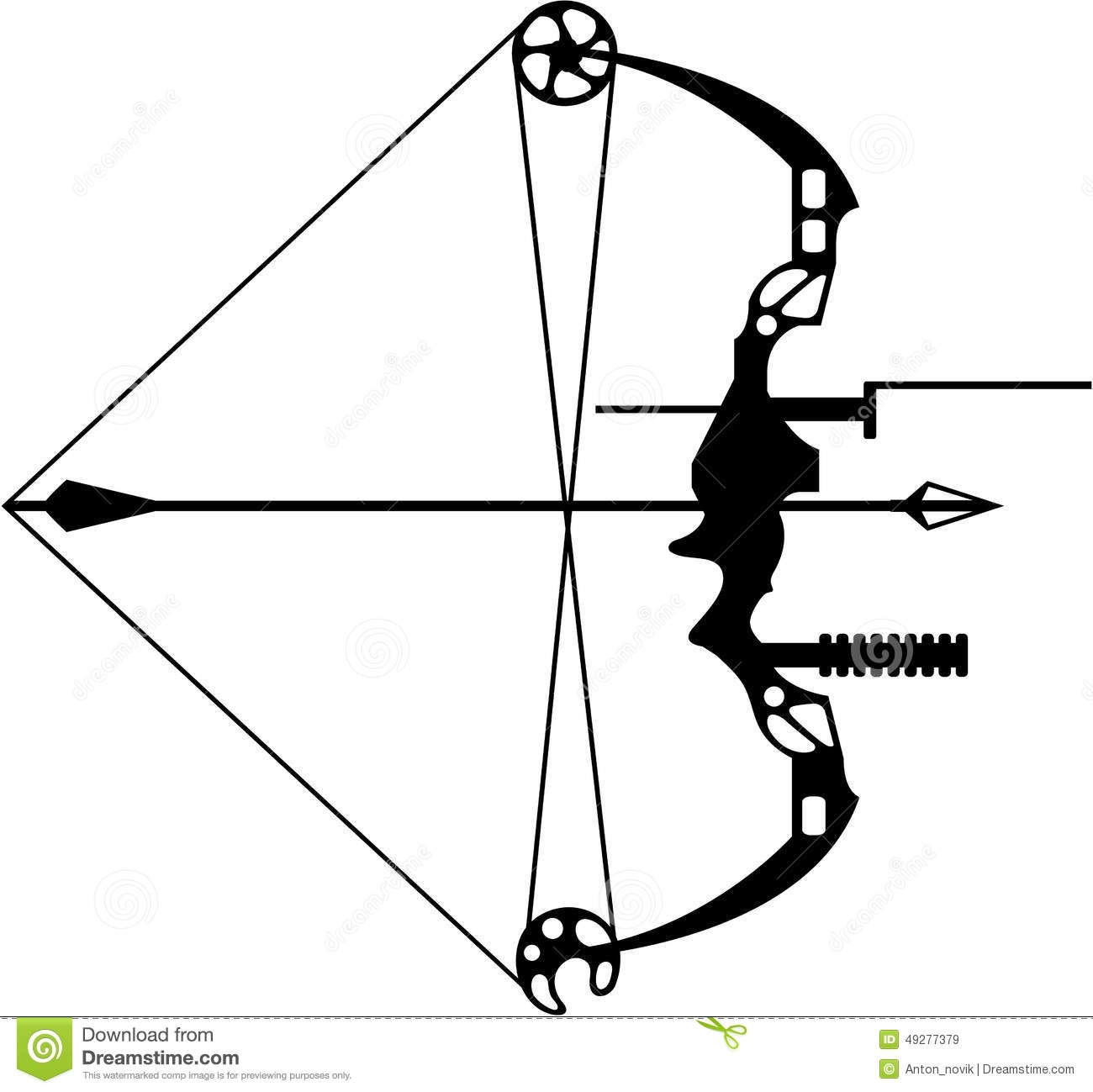 Similiar Compound Bow And Arrow Drawing Keywords.