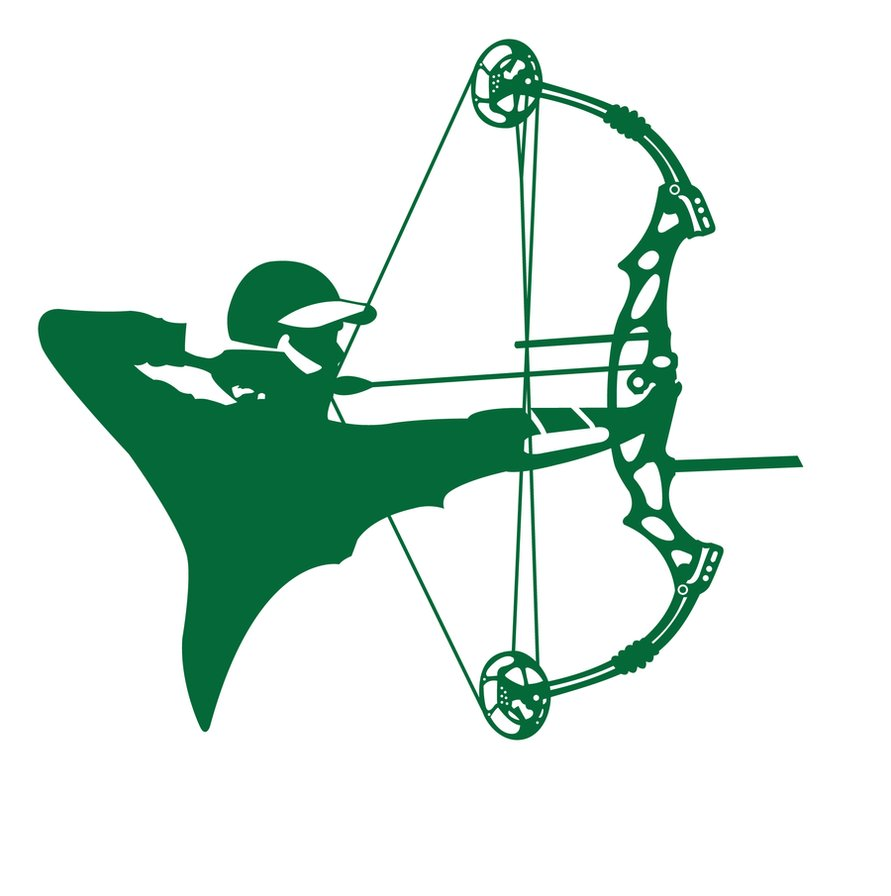 Showing post & media for Compound bow symbol.