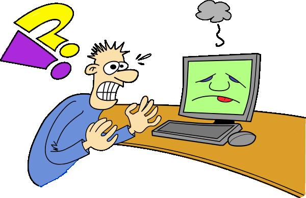 Computer Frustration Clipart (43+).