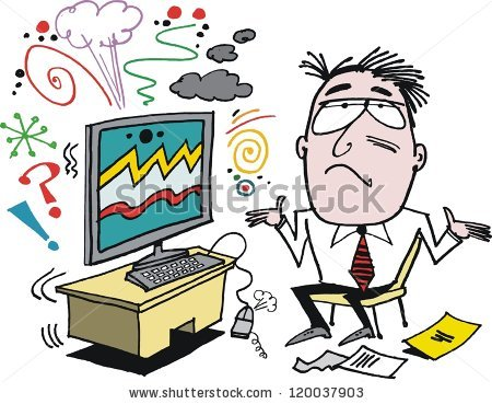 Frustrated Computer Stock Images, Royalty.