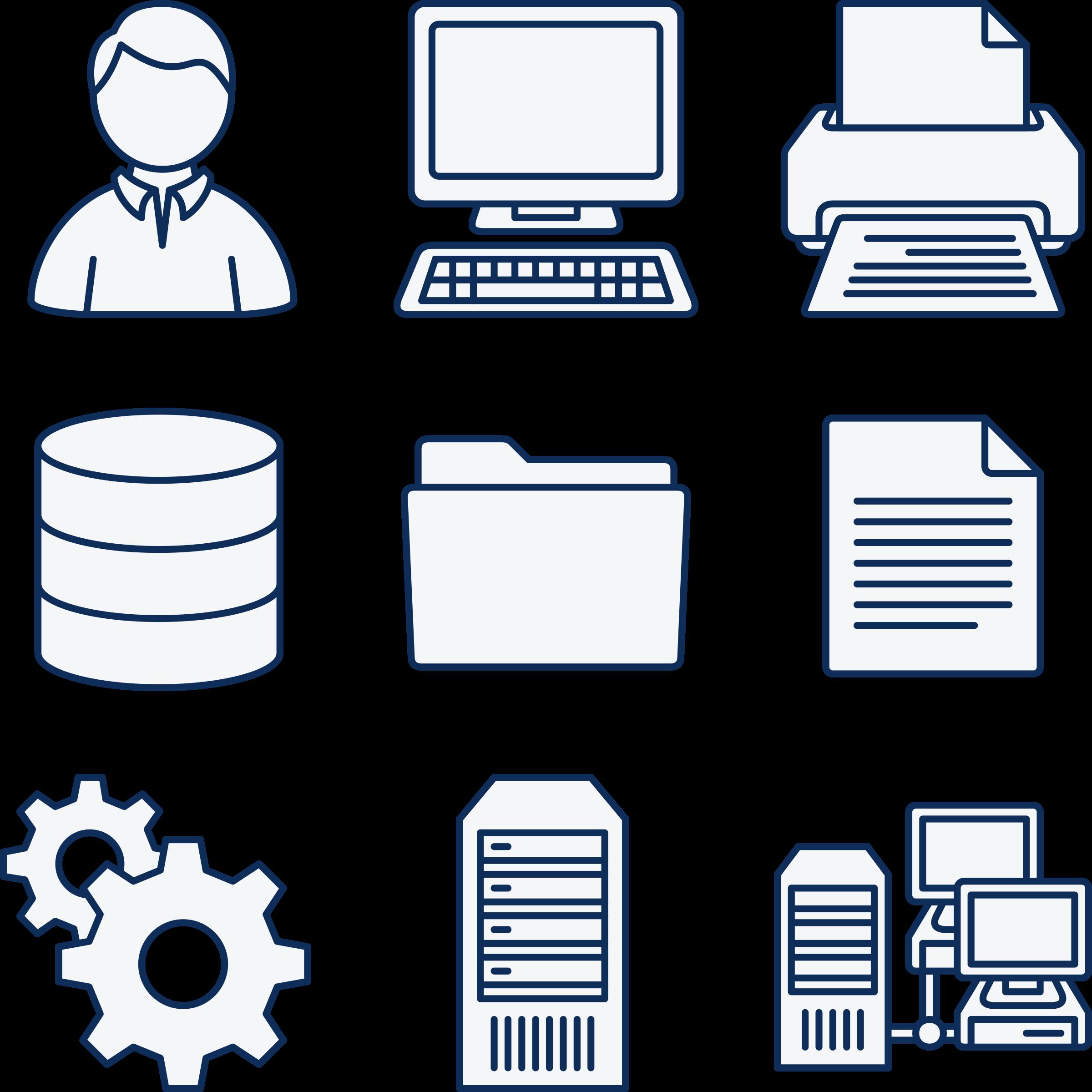 Computer Icon Clipart.
