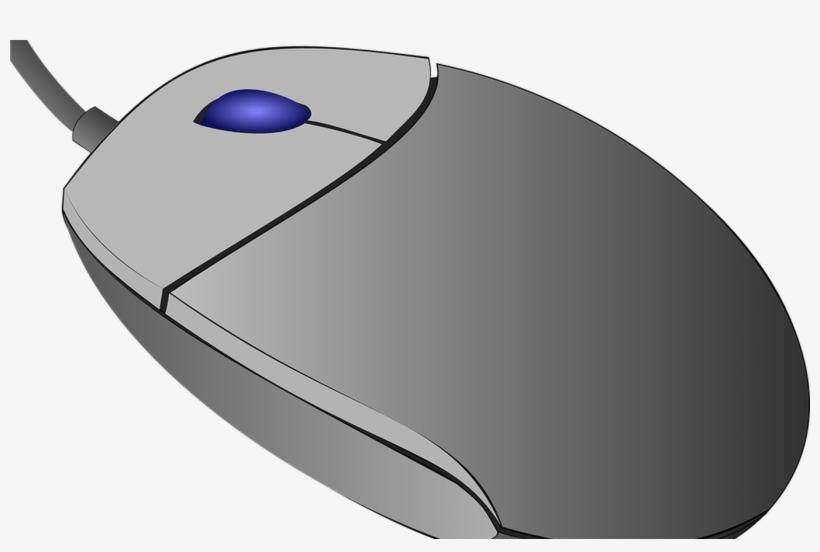 White Computer Mouse Clip Art, Mouse Computer Clipart.