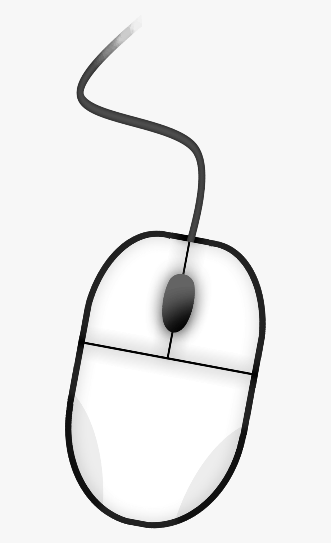 Computer Mouse Clipart Black & White.