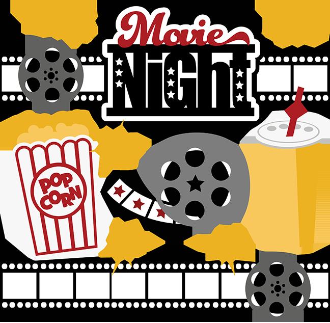 Best Movie Night Clipart #4998.