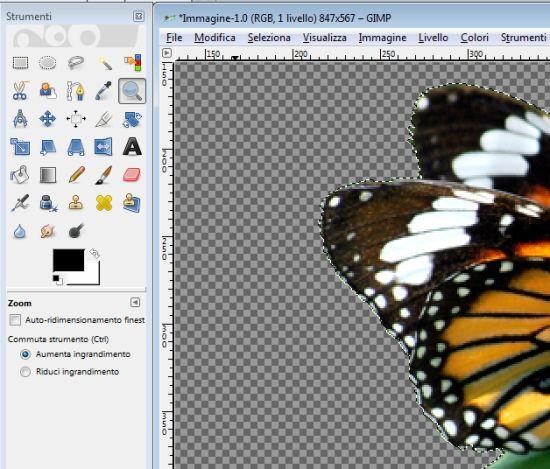 Come eliminare lo sfondo da qualunque foto con GIMP.