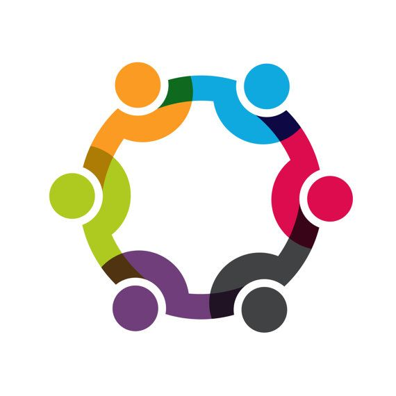 Custom Logo Design Premade Logo Social people network.