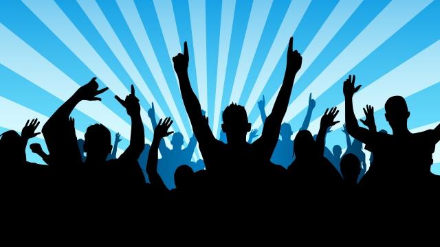 Concert crowd clip art clipart download 4.