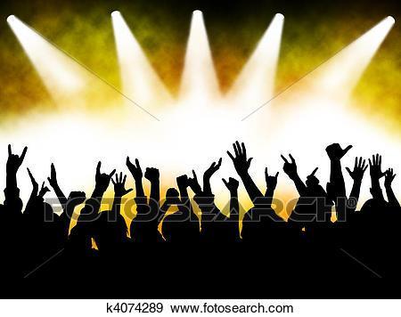 Rock concert clipart 9 » Clipart Portal.