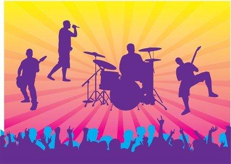 Graphismes vectoriels et Clipart Concert en direct gratuits.