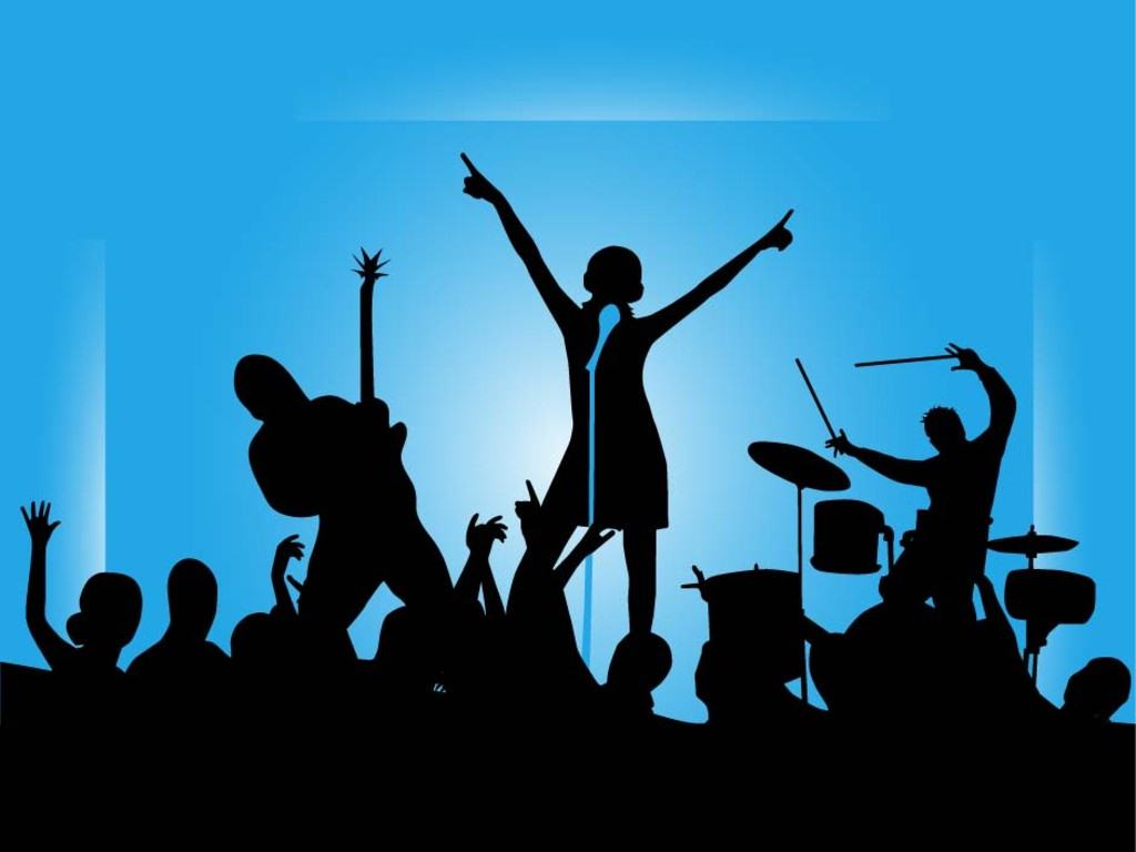 Music concert clipart images.