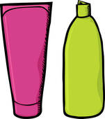 Shampoo And Conditioner Clipart.