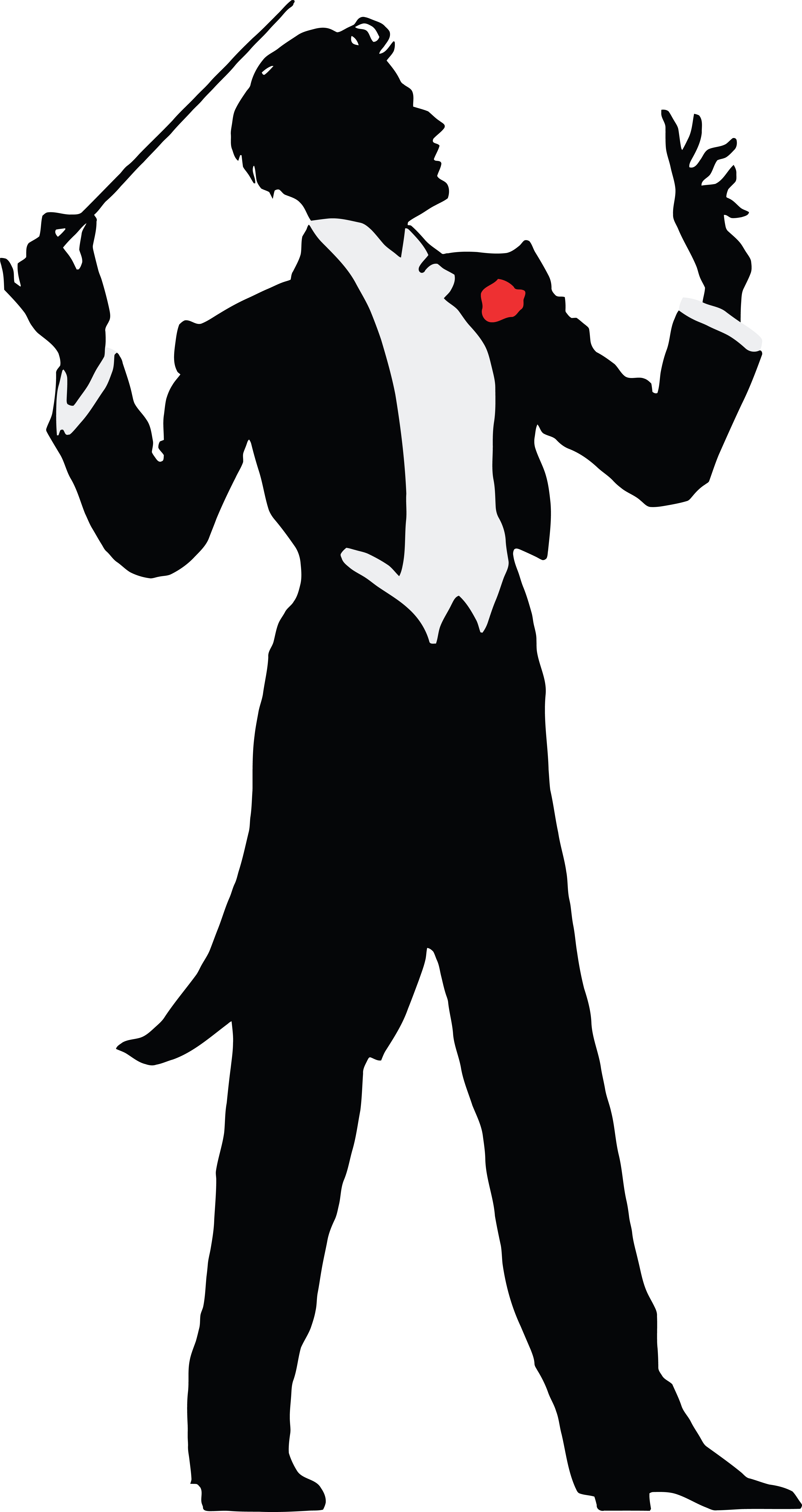 Free Clipart Of A Music Conductor.