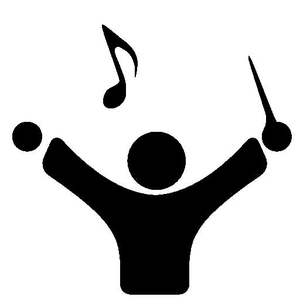 Clipart Musical Conductor.