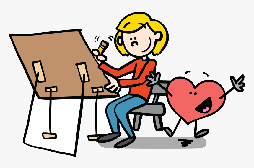 Confidence Cartoon Clipart , Png Download.