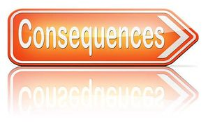 Consequences Clipart.