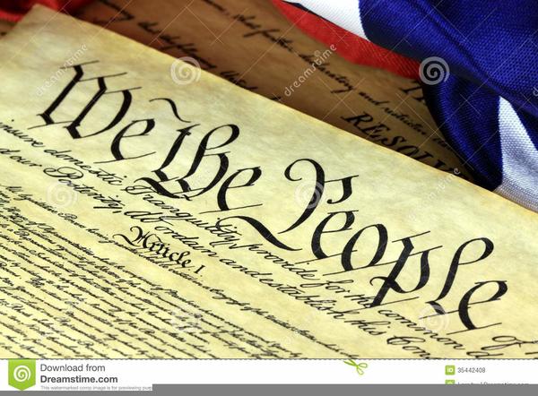 Preamble Constitution Clipart.