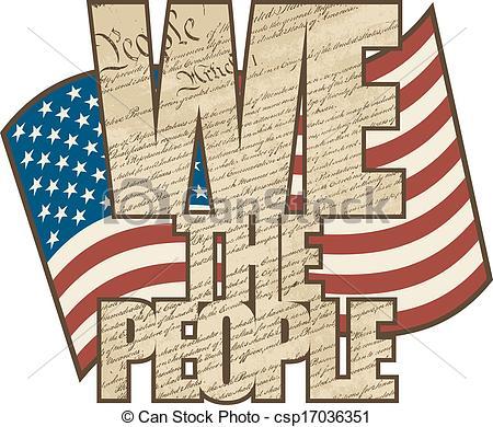 Clipart Constitution United States.