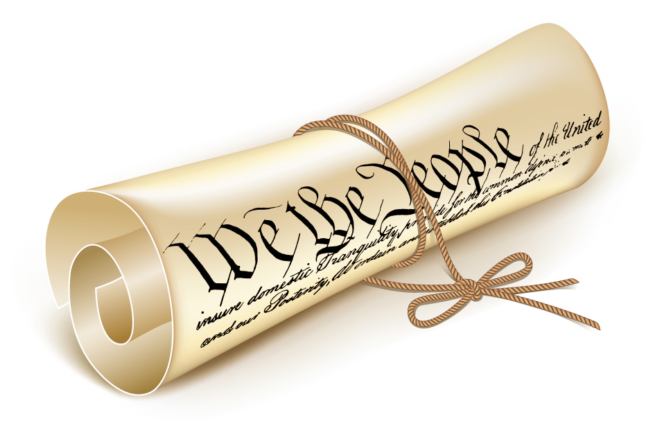 Constitutional law clipart.