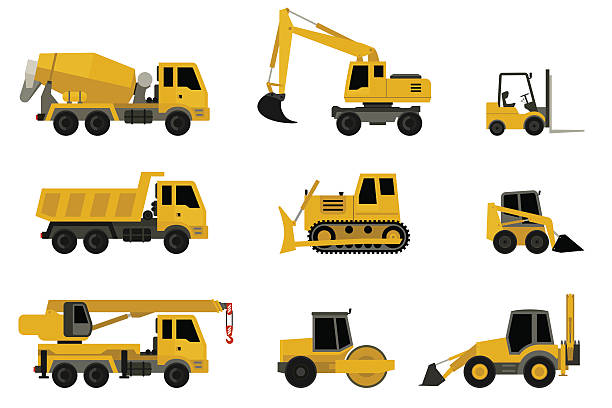 Top 60 Construction Vehicle Clip Art, Vector Graphics and.