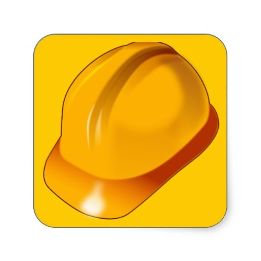 Hard_Hat_Vector_Clipart construction maintenance Stickers.