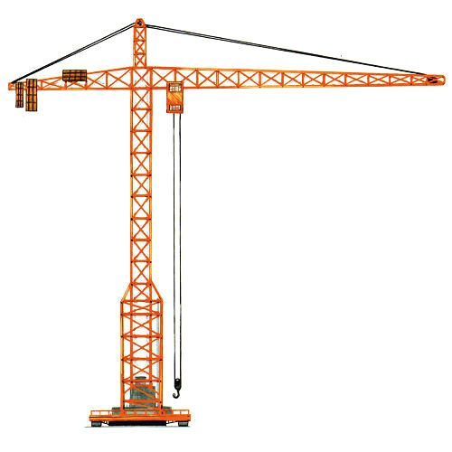Hydraulic Construction Tower Crane Rental Service, In Pan.