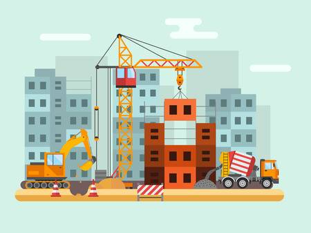 47,009 Construction Site Stock Vector Illustration And Royalty Free.